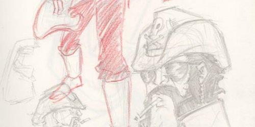 D.D.S.C. Lemmy Kilmister Sketch